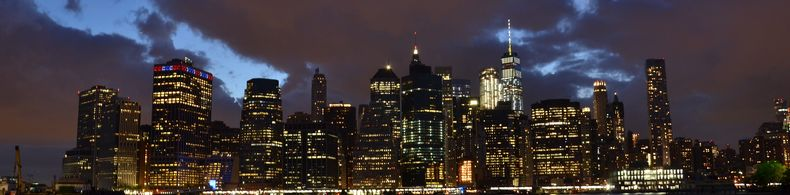 Sprachreise nach New York - Skyline von Manhattan